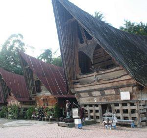 Kawasan Kampung Batak di Desa Tomok