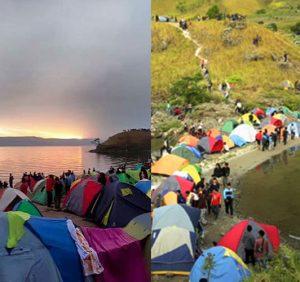 1000 Tenda, Silahisabungan Arts Festival di Paropo, tepi Danau Toba