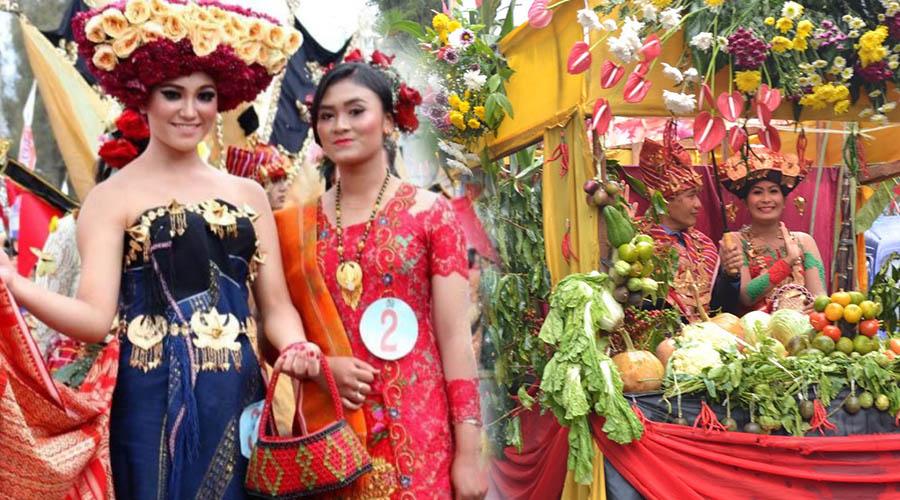 Pesta Bunga dan Buah Kabupaten Karo - kalender wisata danau toba - Kalender Pariwisata Festival Danau Toba 2017
