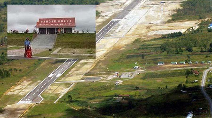 bandara silangit angkasa pura, bandara silangit , bandar udara silangit, bandara internasional silangit, silangit airport