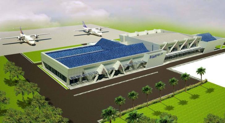 bandara silangit , bandar udara silangit, bandara internasional silangit, silangit airport