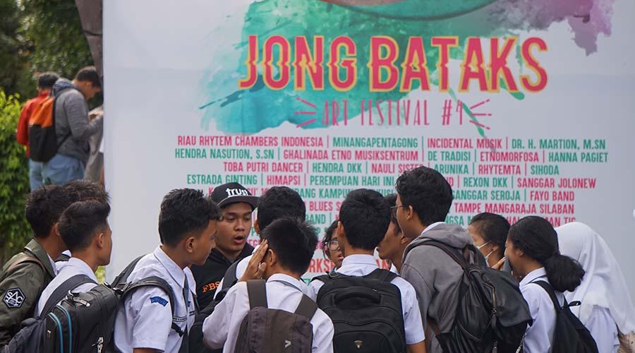 jong bataks arts festival 2017
