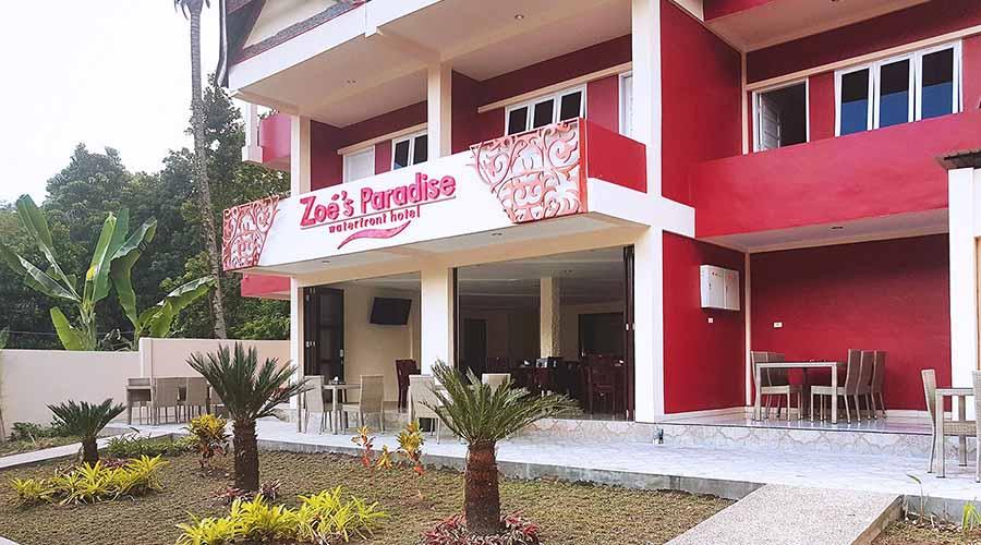 Zoé's Paradise Waterfront Hotel Samosir