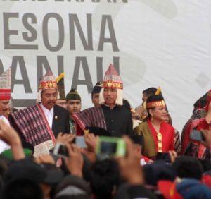 Jokowi: Destinasi Dunia Wisata Danau Toba