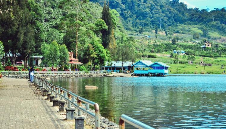 TourToba.com - Wisata Danau Toba - tempat wisata danau Lau Kawar - tempat wisata di Berastagi Karo Sumatera - kemping di Danau Lau Kawar - Lokasi Lau Kawar