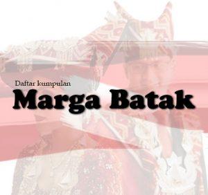 Daftar Marga Batak Dalam Suku Batak