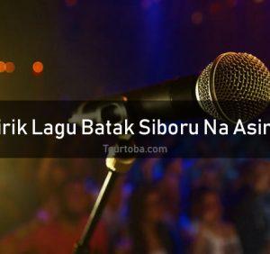 Lirik Lagu Siboru Na Asing