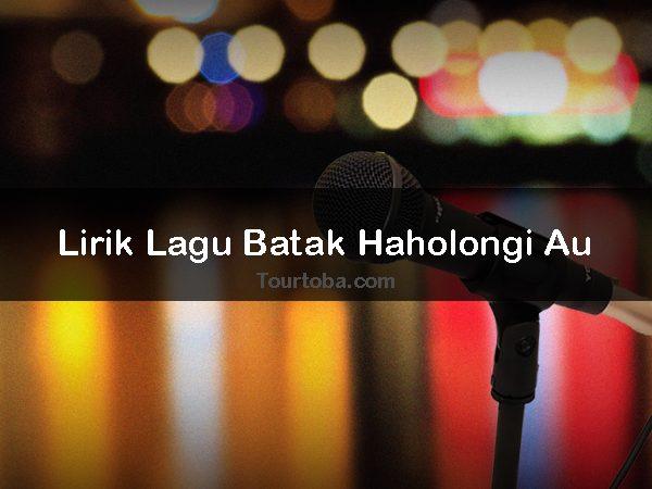 Lirik Lagu Haholongi Au